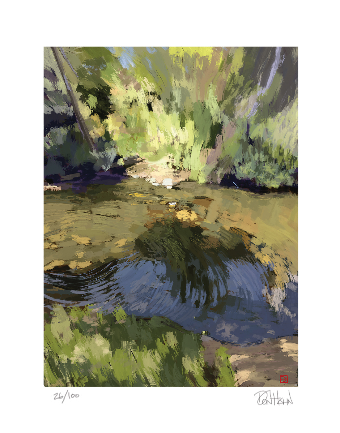 Arroyo Creek, Print